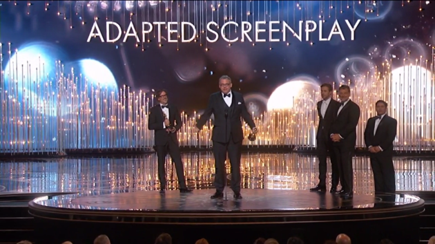 "Oscars: Adam McKay Warns Against ""Weirdo Billionaires"" in Acceptance Speech"