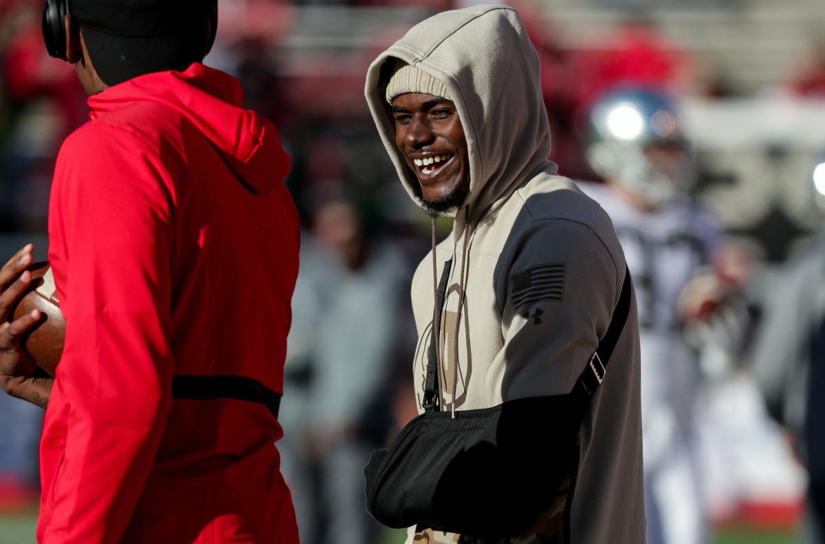 5760867f636bf9 Utah football: If cleared, Huntley says he'll start in the Holiday Bowl