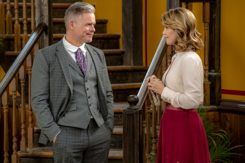 The relationship between Henry Gowen (Martin Cummins) and Abigail Stanton (Lori Loughlin) continues to develop in Season 6 of 'When Calls the Heart.'