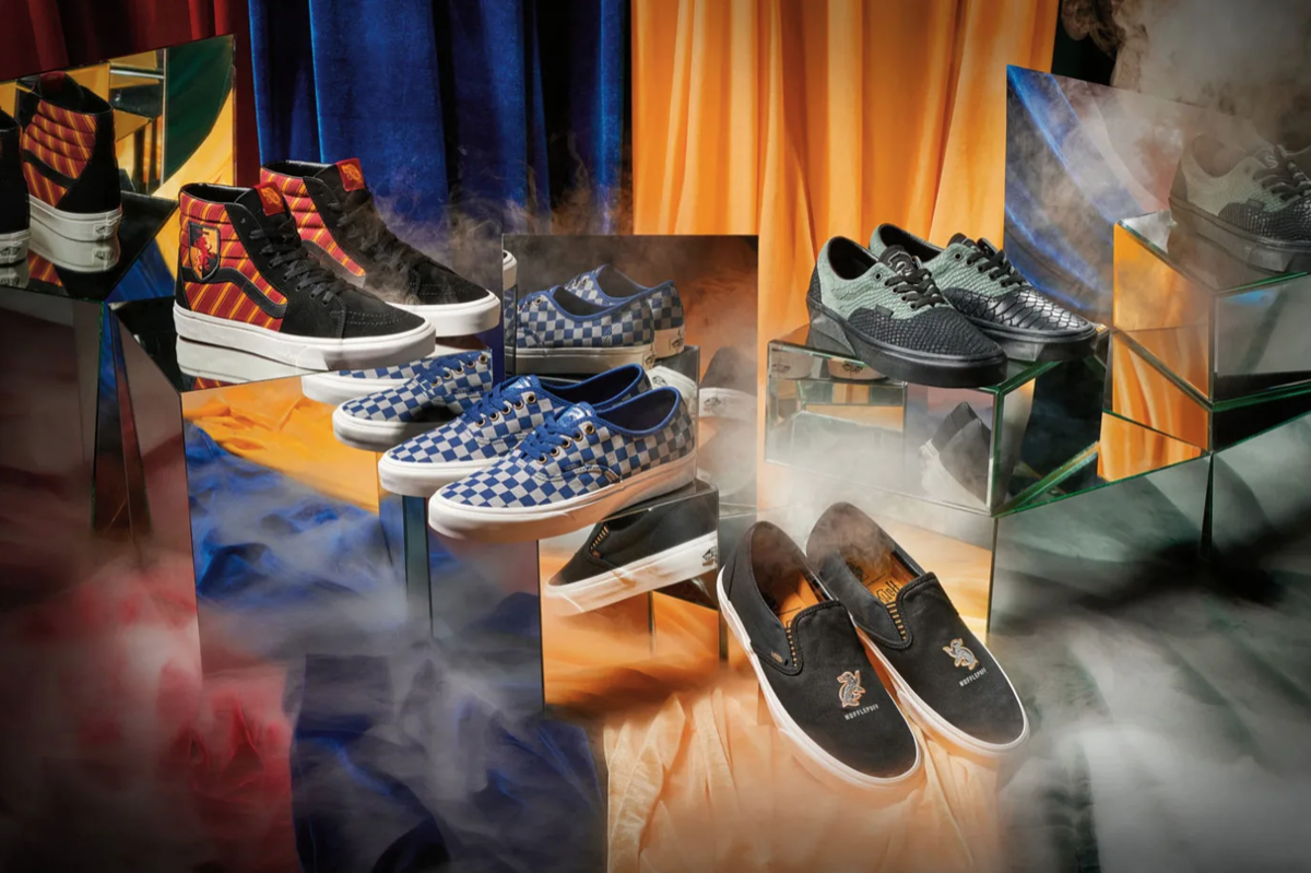 c2293916774 The first images of Vans' 'Harry Potter' sneaker line are here ...