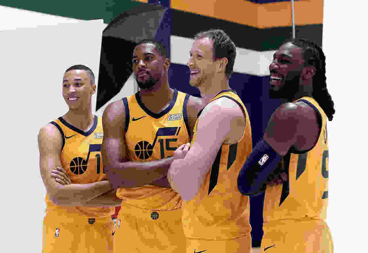81f0b4ebeb9e Utah Jazz teammates Joe Ingles