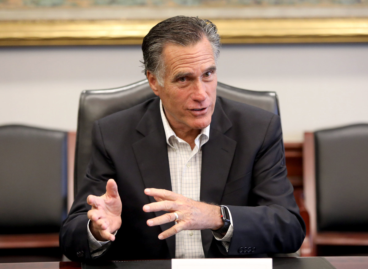 Mitt Romney reveals his 2016 presidential vote