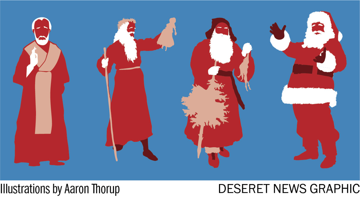 Should christians celebrate santa claus deseret news want to email this article spiritdancerdesigns Images