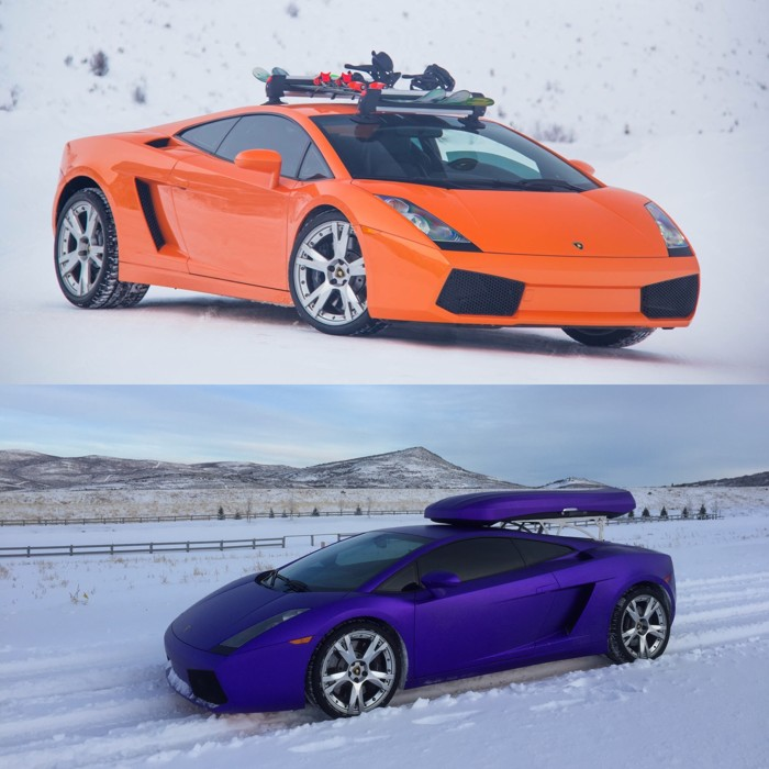 His car sports a 5 liter v10 engine that produces 520 horsepower that is mated to a six speed manual gear box which is hard to find since factory