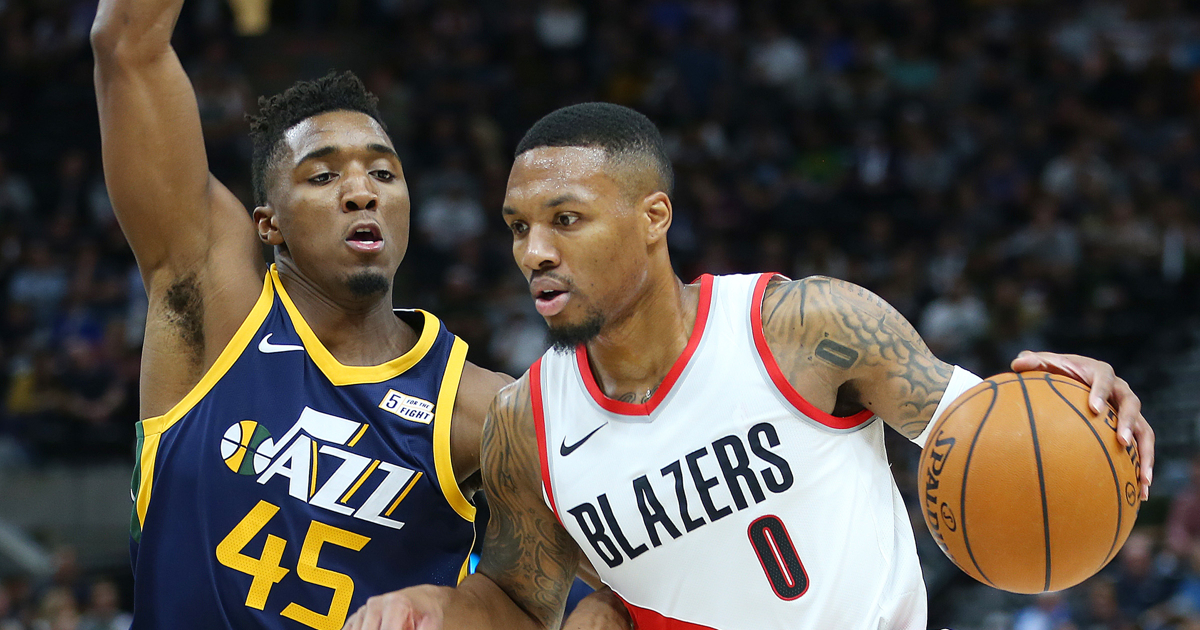 Jazz star Donovan Mitchell begins following similar path as Damian ... 5344911f0e
