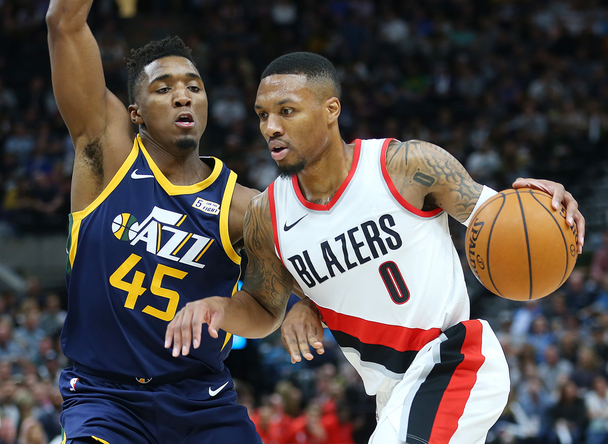 best cheap 97ff0 1fa49 Jazz star Donovan Mitchell begins following similar path as Damian Lillard  to an Adidas signature sneaker