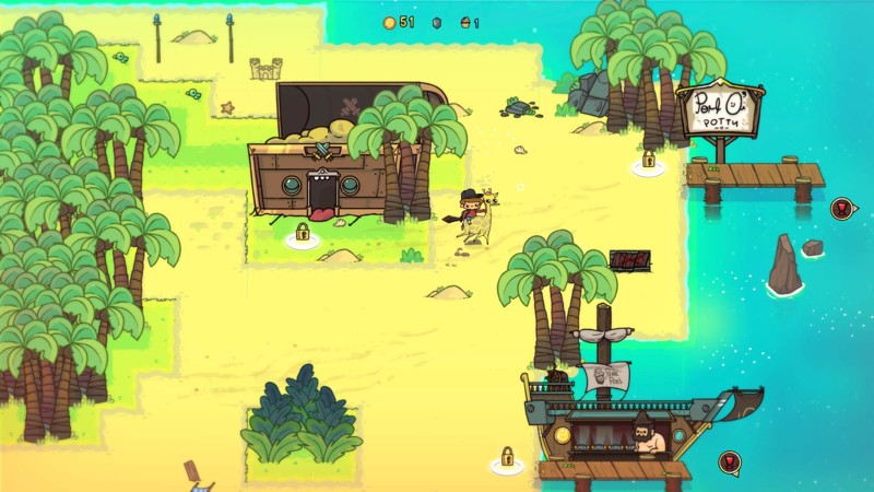 Explore several cute, unique worlds and complete quirky quests in