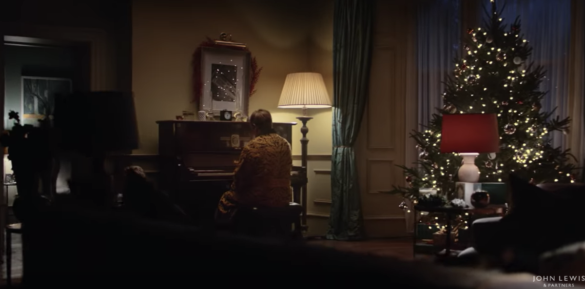 Elton John stars in new Christmas ad. But is there not enough ...