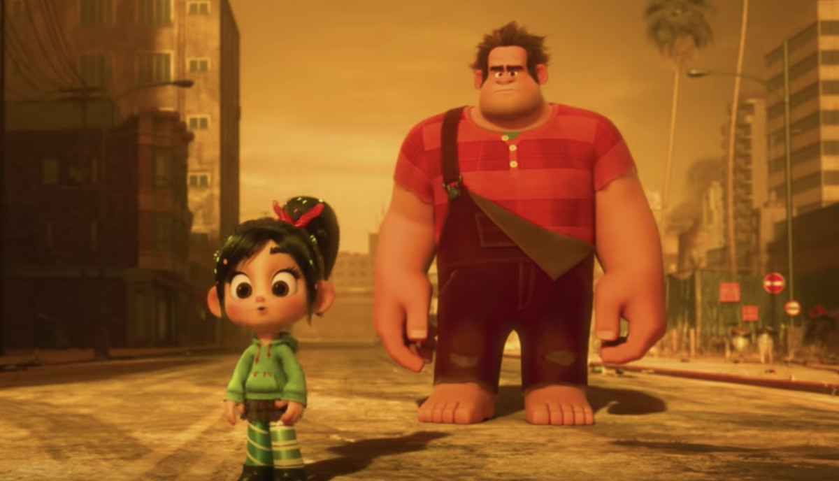 watch the new wreck it ralph 2 trailer which is a giant rickroll