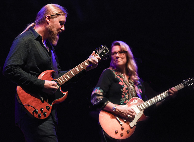 Susan Tedeschi met Derek Trucks at an Allman Brothers concert in 1999 when she opened for the Southern rock band. If there's anything Tedeschi has learned about her husband since their marriage in 2001 and the past eight years as bandmates, it's that he sees the bigger picture and always has others' best interests at heart.
