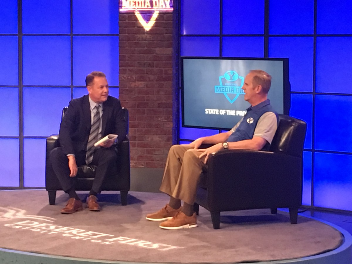 How to watch or listen to the 2019 BYU Football Media Day ...
