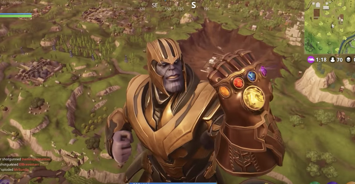 here s why epic games made thanos less powerful in fortnite after only one day - fortnite epic games phone number