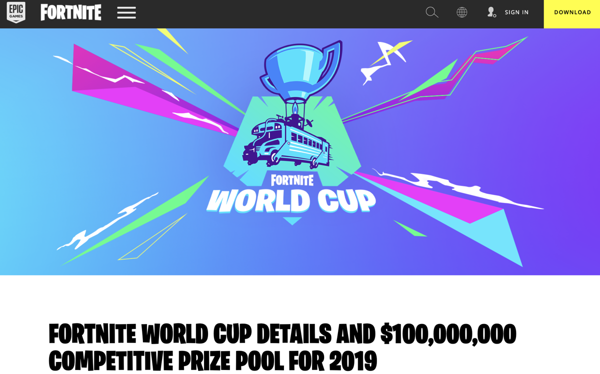 fortnite world cup here s everything you need to know - fortnite qualifiers list