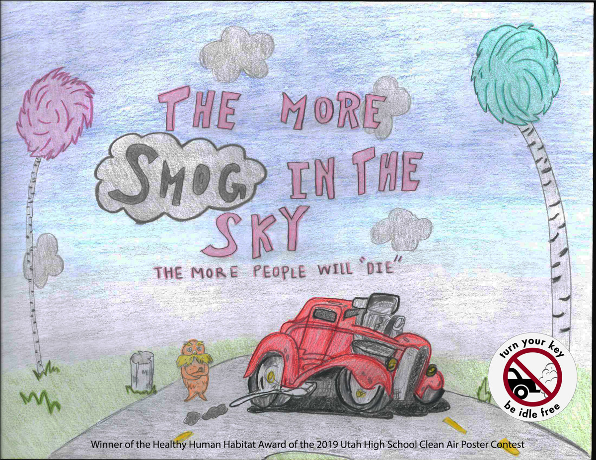 Air pollution its scarier than you think utah high schoolers use art to send a message about clean air