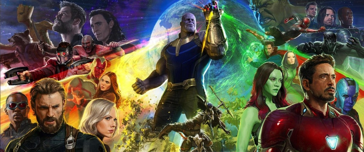 Image result for avengers infinity war poster